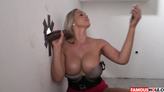 Big Black Cock Glory Hole With Abbey Brooks