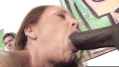Cuck witness his wife Janet Mason banging 3 Blacks