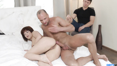 Tricked GF Gina Gets Fucked